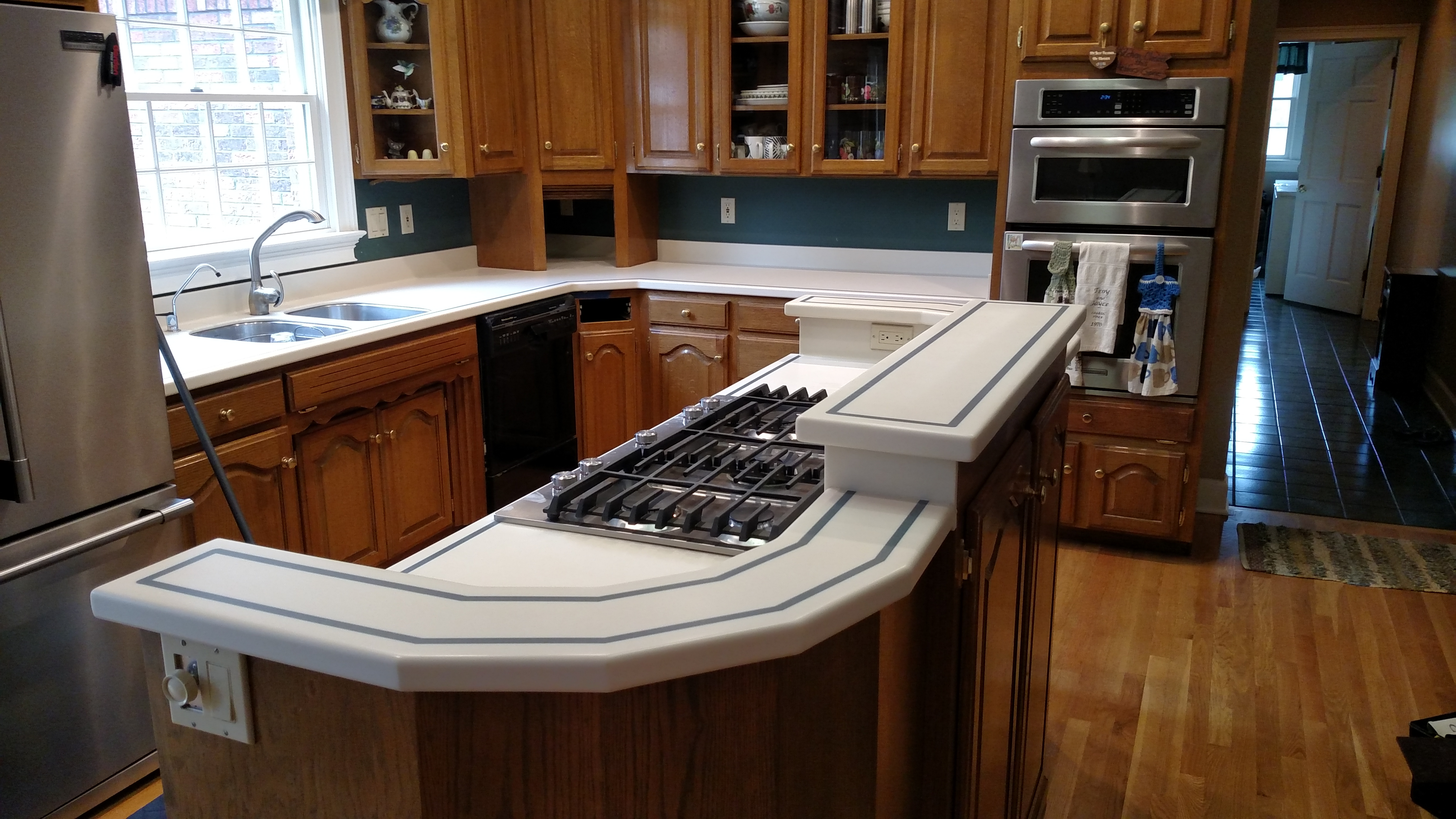 countertop remove home white picture stain of questions dis coloration stack improvement repair from